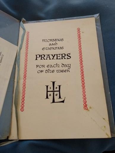 Prayer Book Manuscript