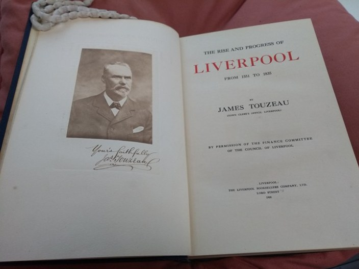 The Rise and Progress of Liverpool by James Touzeau
