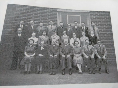 Staff photograph 1956, St. Dominic's Secondary School, Huyton