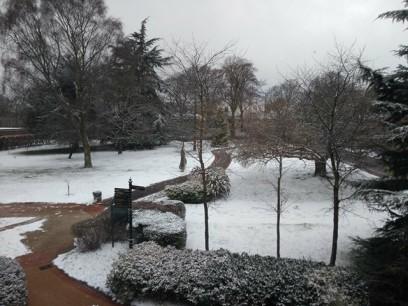 Narnia had arrived at Hope University
