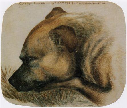 Keeper depicted by Emily Brontë
