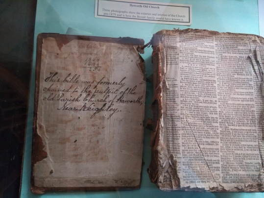 Bible from Haworth Old Church