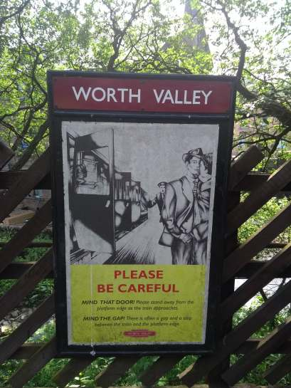 Vintage Worth Valley Poster