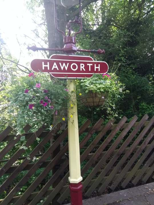 Haworth Station Sign