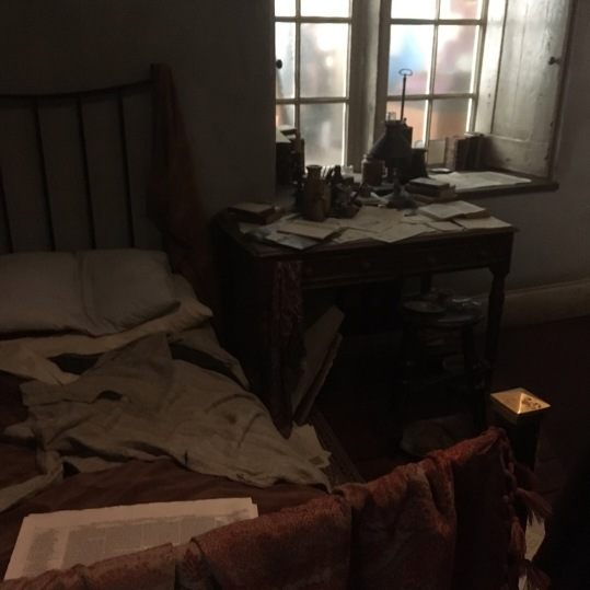 Reconstruction of Branwell's bedroom taken by Sophie Marlowe