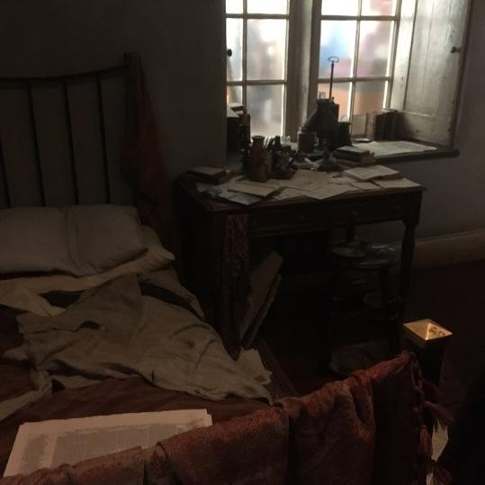 Reconstruction of Branwell's bedroom taken by Sophie Marlowe