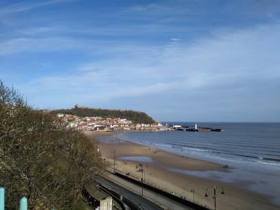 Overlooking the Scarborough Sea