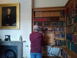 William looks down on Papa Brontë Babe.