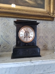 Clock in the Drawing Room.